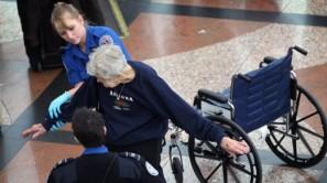 elderly pat down